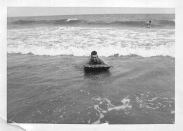 """The Atlantic Ocean. Myrtle Beach, June 13, 1953."""