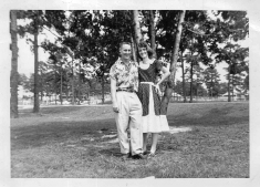 """We sure had fun when this was taken."" Summer of 1953 at Fort Jackson, S.C."