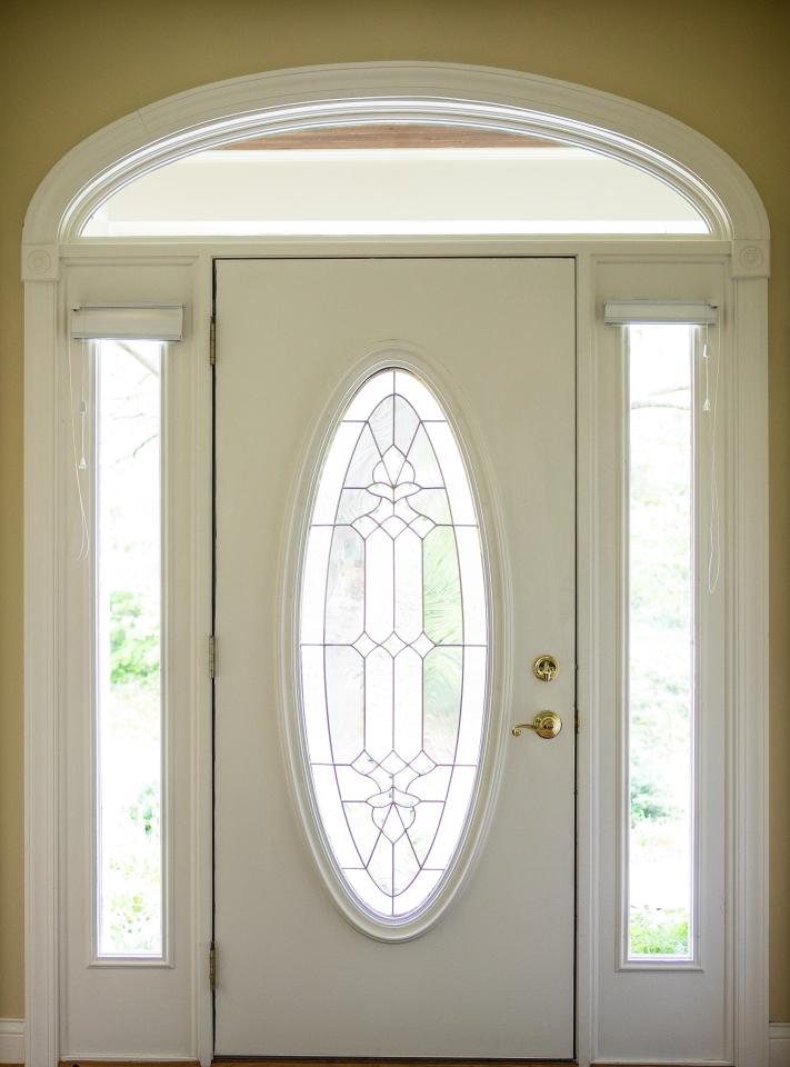 Residence interior front door